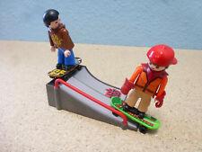 2x Skater mit Rampe zu City Action  4414 Skaterpark Playmobil 025