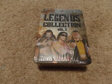 LEGENDS COLLECTION VOL. 1 wwe BRAND NEW FACTORY SEALED wrestling dvd