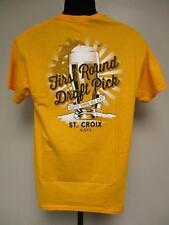 NEW St. Croix US Virgin Islands Adult Mens Size M Medium Shirt