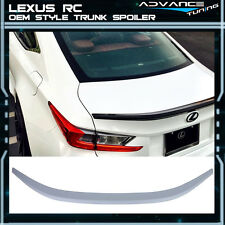 15-17 Lexus RC 200t 300 RC350 OE Factory F Sport Trunk Lid ABS Spoiler