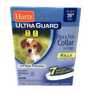Flea Collar for Small Dogs 7 Months Protection Fits Necks Up to 20 Inches