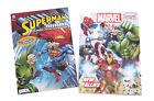 Superman  The Avengers Marvel Comics Kids Coloring Book  Activity Books 2 Pk
