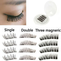 Magnetic Eyelashes Reusable False Eyelashes Natural No-glue Magnet Eye Lashes