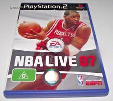 NBA Live 07 PS2 PAL *No Manual*