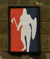 Major League Viking Morale Patch Tactical Military Army Hook Flag Badge