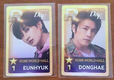 Super Junior D&E DONGHAE EUNHYUK photocard SET Japan Tour 2018 Style Kobe