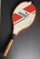 Vintage Graphite Composite 1980s PUMA ONYX SABER Tennis Racket w/Cover UNSTRUNG