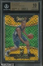 2014-15 Panini Select GOLD Prizm #282 Zach LaVine RC Rookie 4/10 BGS 10