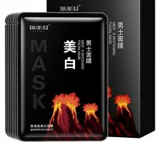 Men Whitening Face Mask Blackhead Oil Control Moisturizing Facial Cosmetics