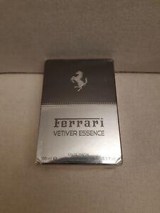 FERRARI Vétiver Essence - Eau de Parfum Homme 100 ML neus sous blister + cadeau