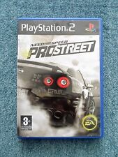 Sony PlayStation 2 PS2 NEED FOR SPEED PRO STREET Electronic Arts Video Game