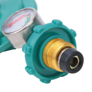 Adjustable Pressure Regulator Liquefied Gas Valve Tank with Gauge Meter