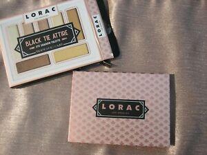 New Lorac BLACK TIE ATTIRE 7-Shade Eye Shadow Palette Neutrals Matte & Shimmer