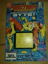 FURY OF FIRESTORM #23 - 1ST FELICITY SMOAK! DC COMICS, ARROW, JUSTICE LEAGUE, CW
