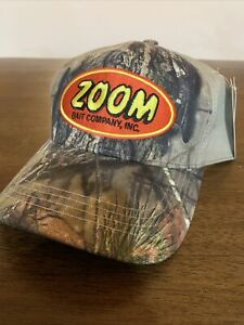 Mossy Oak ZOOM Bait Company Adult One Size Camouflage Cap NWT