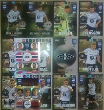 Set 14 Cards Nordic Edition Rosenborg BK FANS Club EXTRA 2017 Adrenalyn FIFA 365