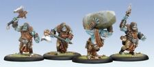 BNIB Warmachine Hordes - Trollblood Krielstone Bearer & Scribes (4)