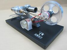 OZ Mini Hot Air Stirling Engine Motor Model Educational Toy w/Electricity genera