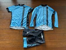 Voler Cycling Bundle - Padded Shorts, Long & Short Sleeve Jerseys - Women's 2XL