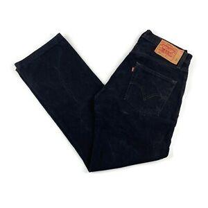 """Womens Black LEVIS 501 30""""W 31""""L Vintage Mom Mum Boyfriend Fit Jeans 501s"""