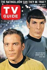 1960s STAR TREK TV Guide cover replica magnet - new!