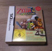 Nintendo DS // Zelda-Spirit Tracks-Vorbesteller-Box // Incl. Personnages // RAR