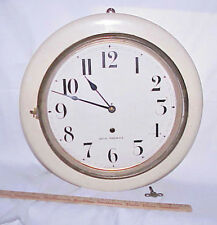 """SCARCE ANTIQUE SETH THOMAS """"ARCTIC"""" GALLERY WALL CLOCK MADE IN USA, TIME ONLY"""
