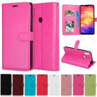 Slim Wallet Leather Flip Case Cover For Xiaomi 8 Lite Redmi S2 Go 5A 6A 7 Note 7