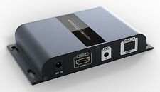 Up to 20Km,HDbitT HDMI over IP Single-mode Fiber Extender Adaptor with IR 1080P