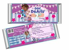 Doc McStuffins Candy Bar Wrappers/ Party Favors - Birthday - Set 12