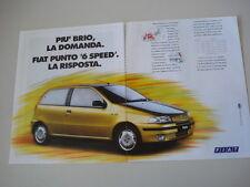 advertising Pubblicità 1994 FIAT PUNTO 55