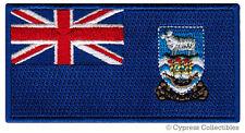 FALKLAND ISLANDS FLAG embroidered iron-on PATCH BRITISH TERRITORY Islas Malvinas