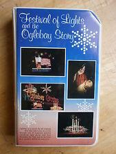 OGLEBAY STORY FESTIVAL OF LIGHTS VHS Video Christmas Display Wheeling Park WV