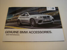 BMW . Performance  Accessories . 2010 . Sales Brochure