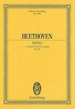 Beethoven: Missa by Eulenburg (Paperback / softback, 1982)