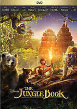 The Jungle Book (DVD, 2016) LIVE VERSION DISNEY w/Valid Reward Points