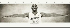 New Framed Kobe Bryant Wings Poster HUGE High Quality Life Size Digital Print