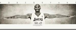 New Framed Kobe Bryant Wings Poster HUGE High Quality Life Size Digital Print