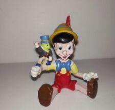 Pinocho y Pepito grillo PVC Applause Disney Años 80 Pinocchio and Jimini Cricket