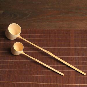 Long Handle Bamboo Spoon Water Bailer Bamboo Water Gourd Ladle Spoon
