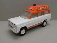 Tonka 53078 Tin Toy Jeep Wagoneer Rescue Geel 70-jaren