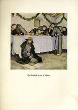 Franziskus -- Ein Lehrstück für die hl. Armur - Coloriert - aus 1931