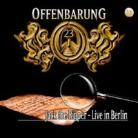 """OFFENBARUNG 23 """"JACK THE RIPPER-LIVE IN BERLIN"""" CD NEW"""