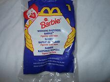 Mcdonalds happy meal toy Barbie Wedding Rapunzel  #1 1996 unopened