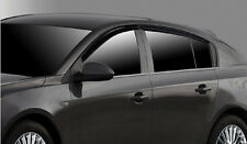 Autoclover Smoke Tinted weather shields for 2009/Jun ~ 2016 Holden Cruze Hatch