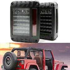 2x LED Reverse Rear Brake Tail Lights Lamps Model for Jeep Wrangler JK 07-17