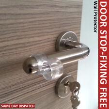 WALL PROTECTORS DOOR STOP DOOR HANDLE BUMPER GUARD DOOR  STOPPER RUBBER NEW DIY
