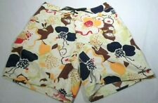 Patagonia Board Shorts Size 33 Floral Pattern Knee Length Swim Trunks Casual