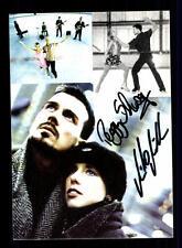 Peggy Schwarz und Mirko Müller Autogrammkarte Original Eiskunstlauf + A 151582