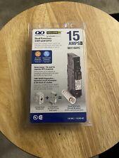 Square D Qo115Dfc 15A 1 Pole Plug-in Mini Circuit Breaker - Black